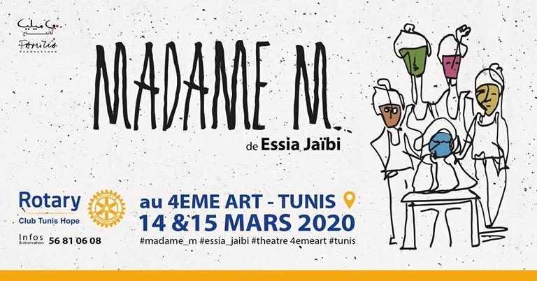Madame M. de Essia Jaïbi I Rotary Club Tunis Hope