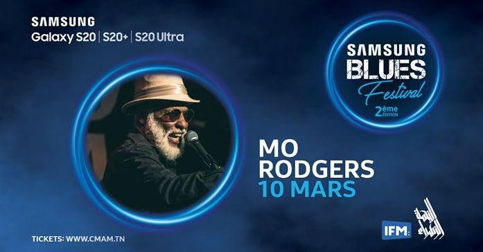 "Mo Rodgers ""Samsung Blues Festival"""