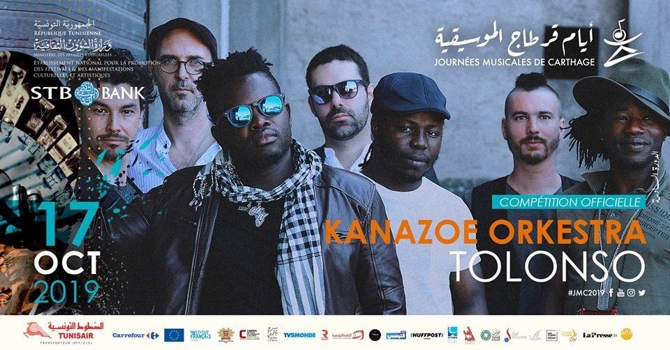 Compétition officielle /Jour 6 : Tolonso de Kanazoe Orkestra