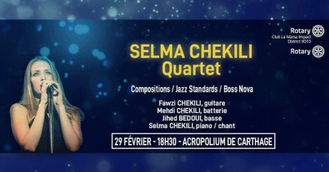 Spectacle De Jazz Selma Chekili Quartet