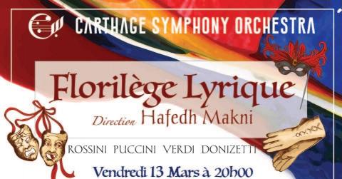 Concert Lyrique par le Carthage Symphony Orchestra