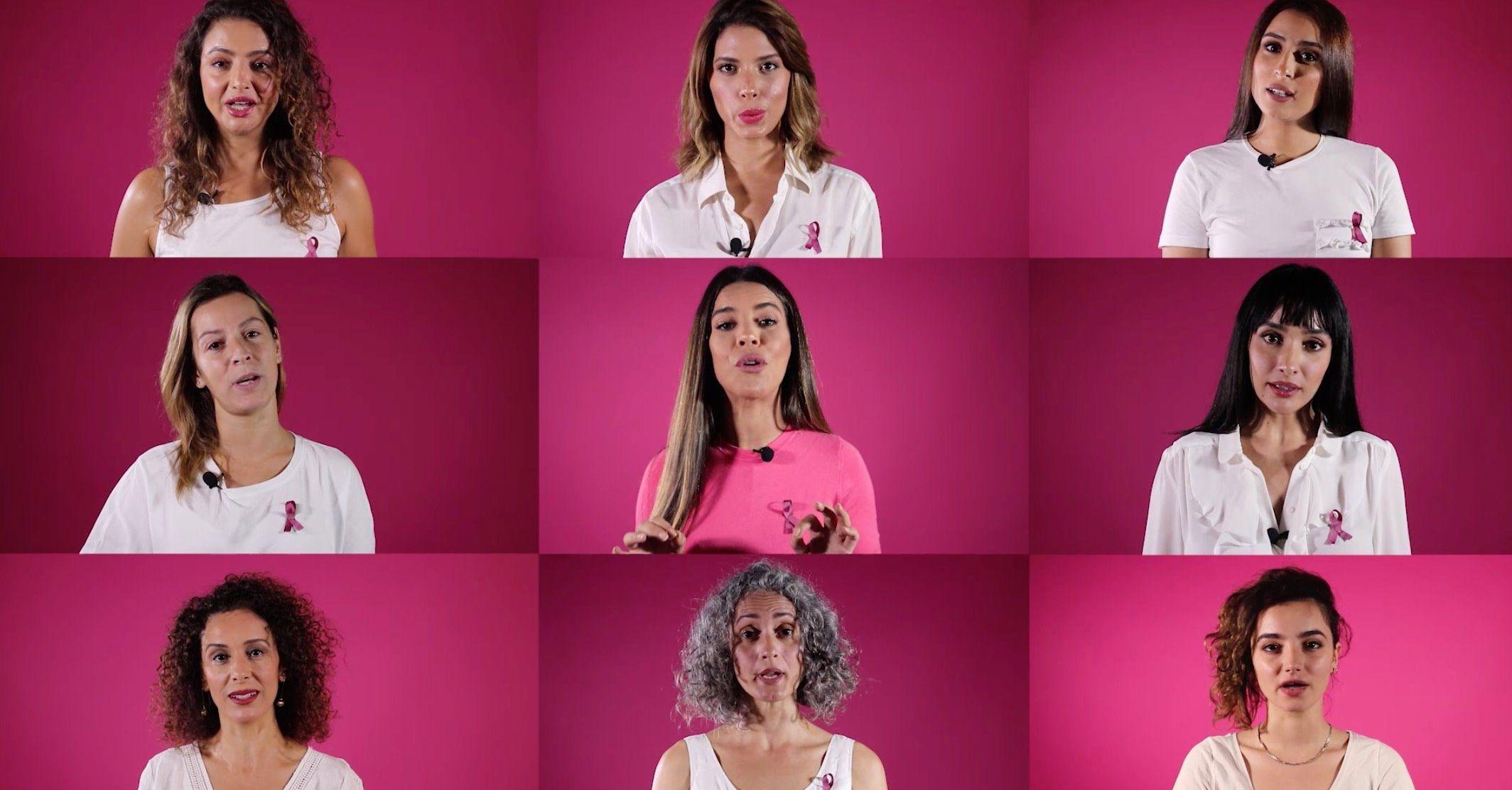9 personnalités tunisiennes se mobilisent avec le magazine « Femmes de Tunisie » dans la lutte contre le cancer du sein