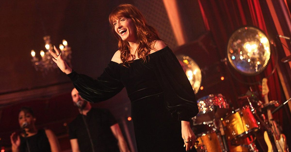 [This Song Made My Day]  Florence + The Machine - What Kind Of Man - Later… with Jools Holland