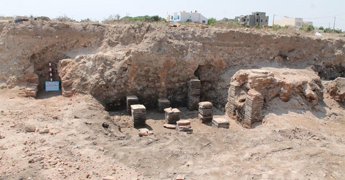 El Maamoura : Découverte de deux statues de l'époque romaine tardive