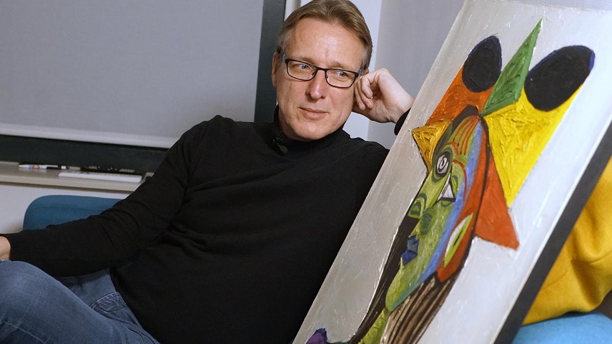 Dérobé il y a deux décennies: UnPicassoretrouvé grâceà «l'IndianaJones du monde del'art»